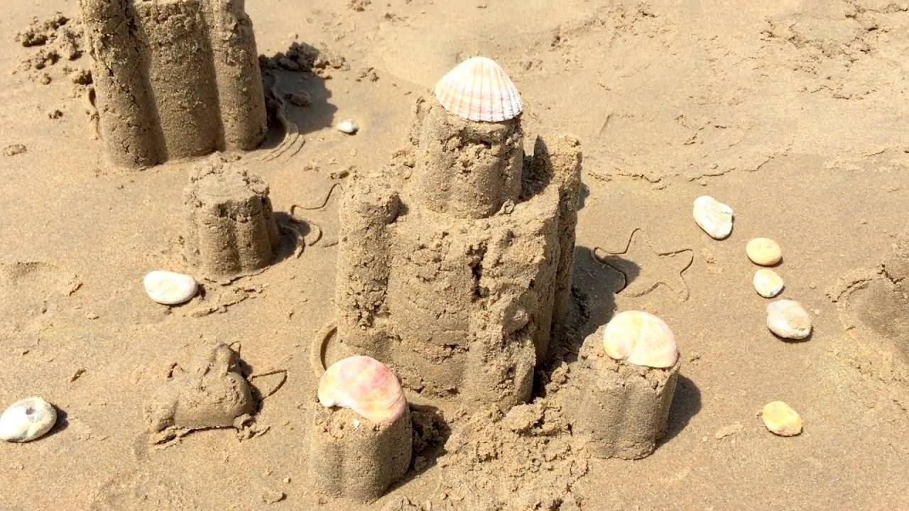 Image result for images of kids sand castles