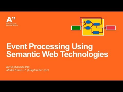"Public Defence of ""Event Processing Using Semantic Web Technologies"" Part I"