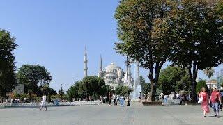 Hagia Sofia, kościół Mądrości Bożej, Stambuł 14 lipca 2014 r.