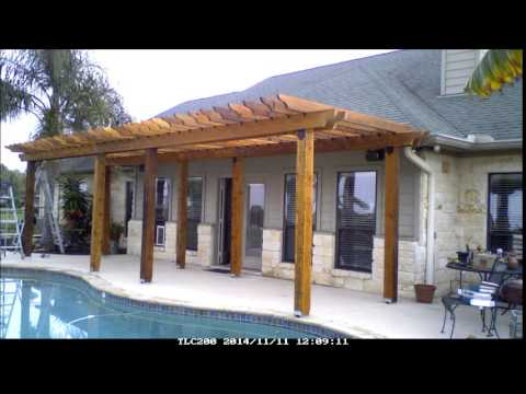 Build a pergola in 15 minutes youtube for What goes into building a house
