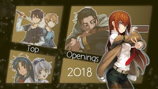 Top 50 Anime Openings of 2018 (10 Group Rank)