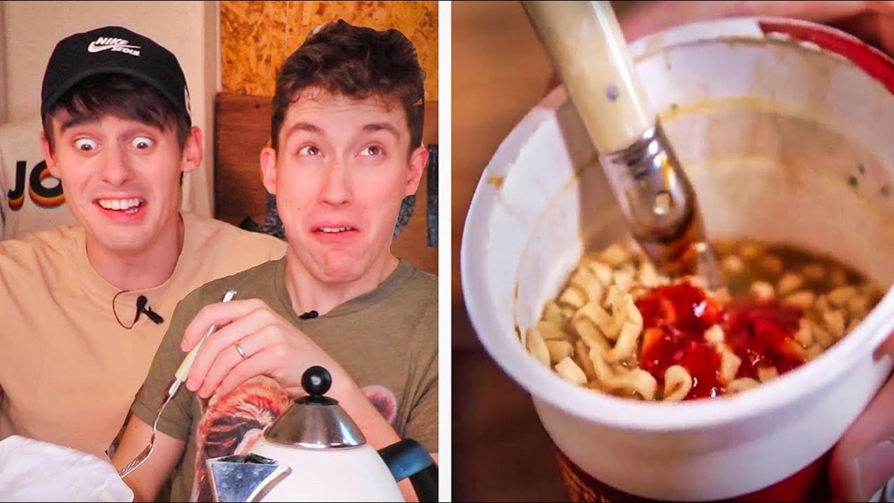 """Trying BRITISH """"Pot Noodles""""... ?(help)"""