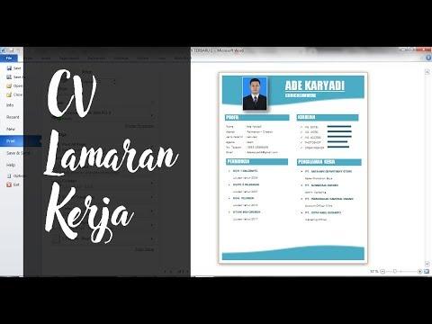 CARA BUAT LAMARAN KERJA LEWAT HP | TUTORIAL MEMBUAT SURAT LAMARAN KERJA LEWAT HP BENTUK PDF | part 1.