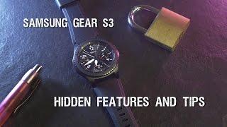 Samsung Gear S3  hidden features and tips