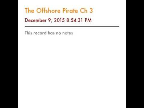 The offshore pirate Ch1