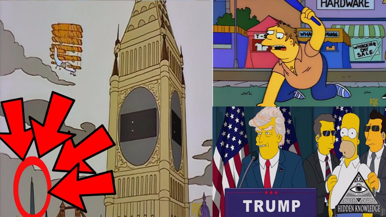 25 times the simpsons predicted the future youtube