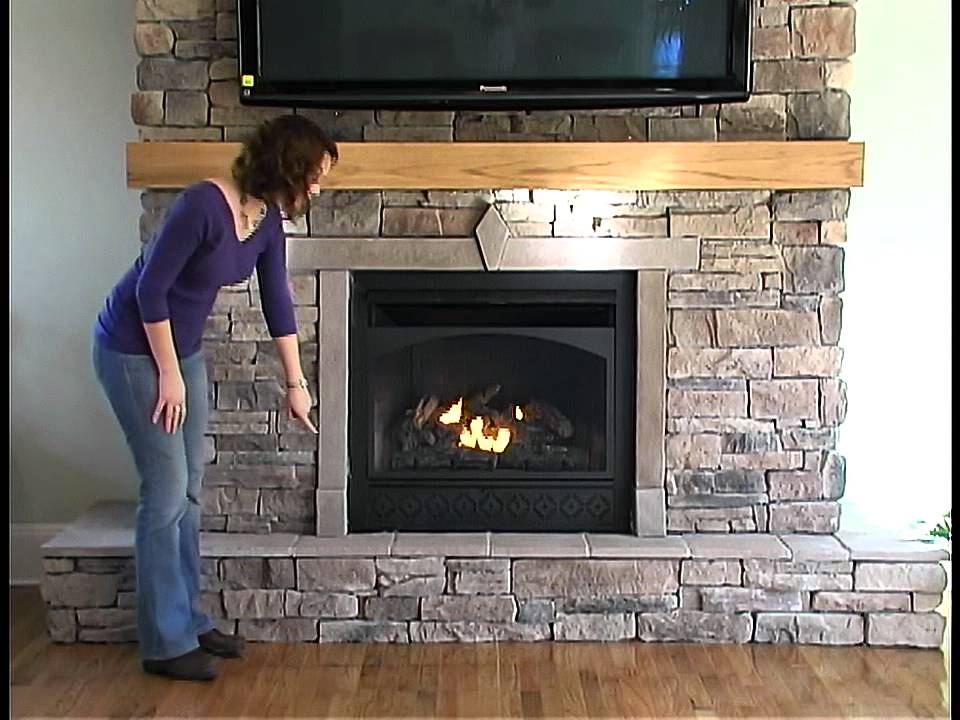 Fireplace Trim Kit  YouTube