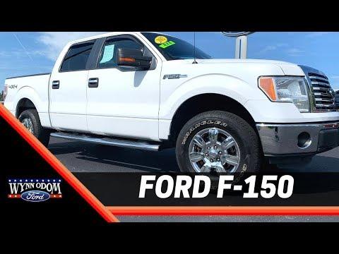 🚨 Used 2012 Ford F-150 XLT SuperCrew Oxford White | Wynn Odom Ford