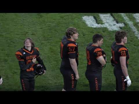 Oregon High School Varsity Football vs Stoughton 9/21/18
