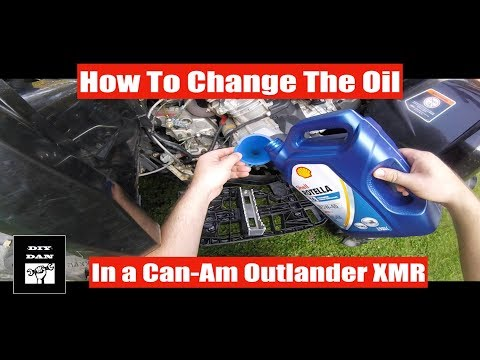 How To: Can-Am Outlander L 570 Xmr Oil Change