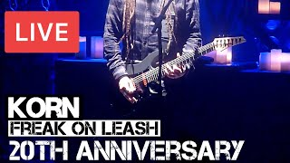 Korn - Freak on a Leash (20th Anniversary Show) Live @ O2 Brixton Academy 2015