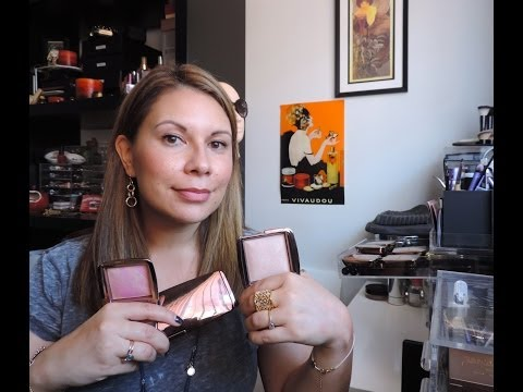 Hourglass Ambient Lighting Powders & Blushes Comparison