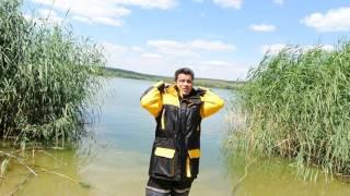 Испытание костюма поплавка Norfin Raft.
