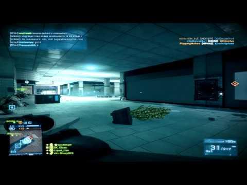 Battlefield 3 Gameplay i5 3330 @3.0GHz Asus 660 GTX DirectCUII - Operation Metro