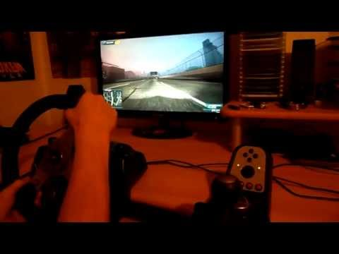 NFS Most Wanted 2012 Gameplay on Logitech G25 Wheel