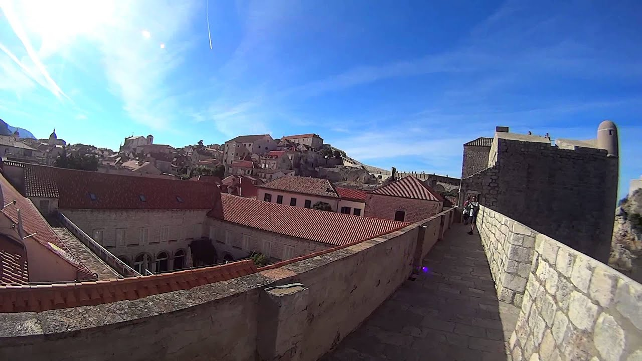 Sony HDR-AS15 Panorama Test 1 - Dubrovnik - YouTube