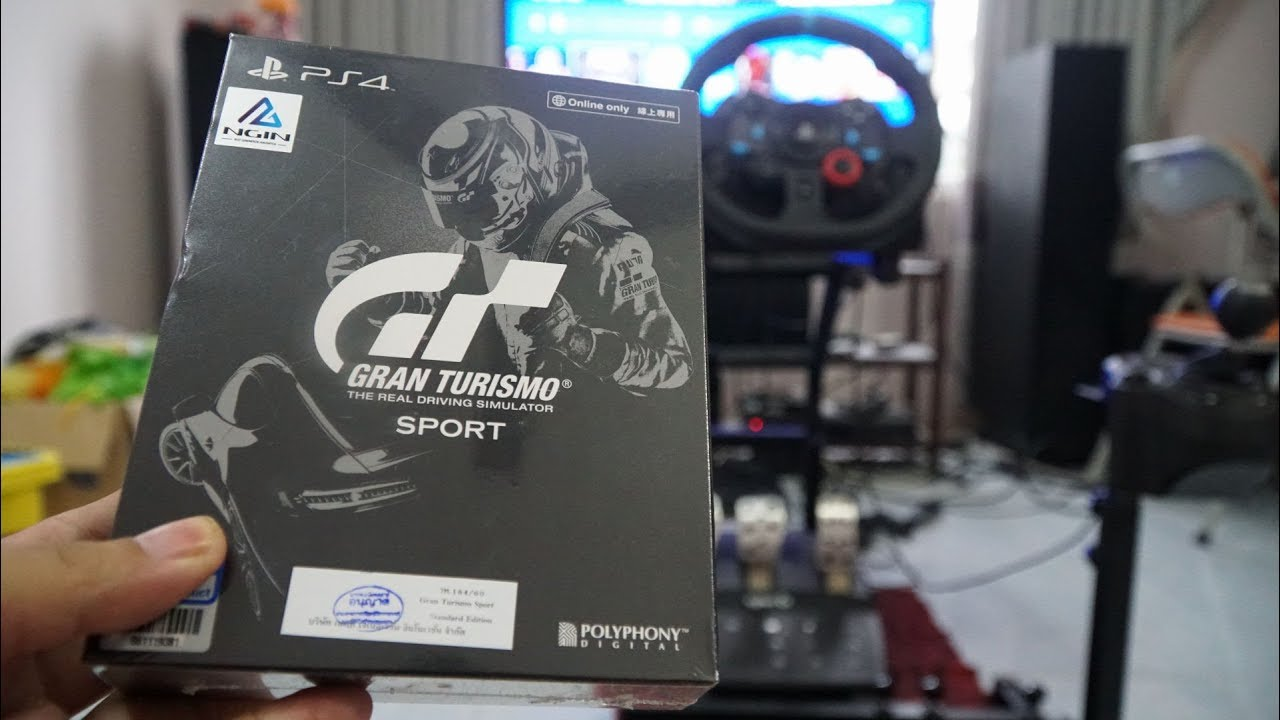 667632efbb4 Gran Turismo Sport Limited Edition Unboxing and Video Test Audi R8 LMS with  Logitech G29