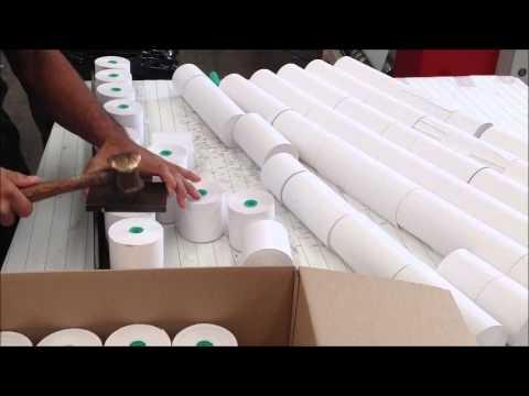Sr 1100 mm semiautomatica papel termico dimatra youtube - Papel de vinilo para cocinas ...