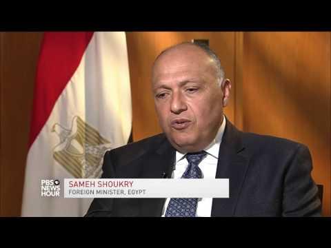 Egypt envisions 'strengthening' of U.S. relationship under Trump