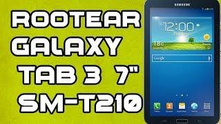 """Rootear e instalar Recovery Galaxy Tab 3 7"""" (SM-T210) HD"""