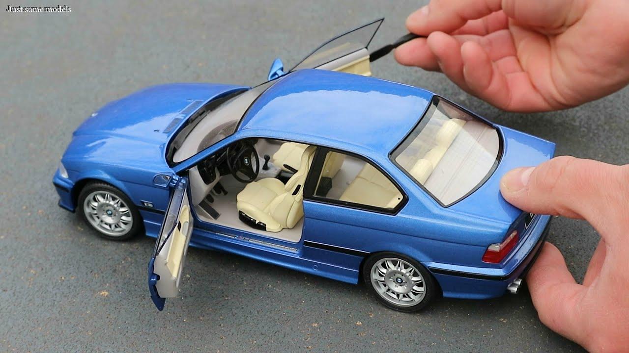 Baujahr 1990 estoril blau 1:18 Solido E36 BMW M3 Coupe