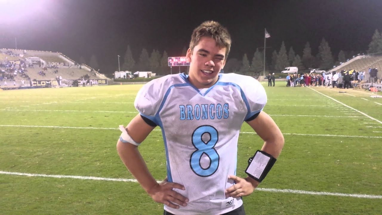 sportswurlz interview clovis north qb brent bailey sportswurlz interview clovis north qb brent bailey