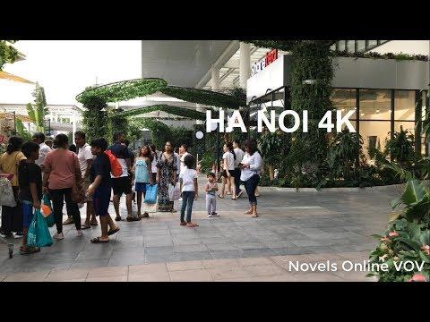 Ha Noi 4K   Walking Around Aeon Mall #4 ( April, 2019)   Viet Nam   Novels Online VOV