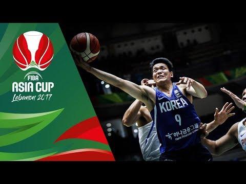 Philippines v Korea - Highlights - Quarter-Final - FIBA Asia Cup 2017