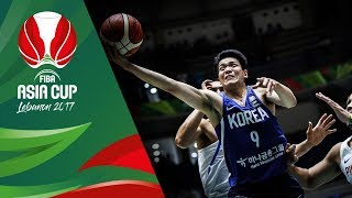 Philippines v Korea - Highlights - Quarter-Final - FIBA Asia Cup 2017