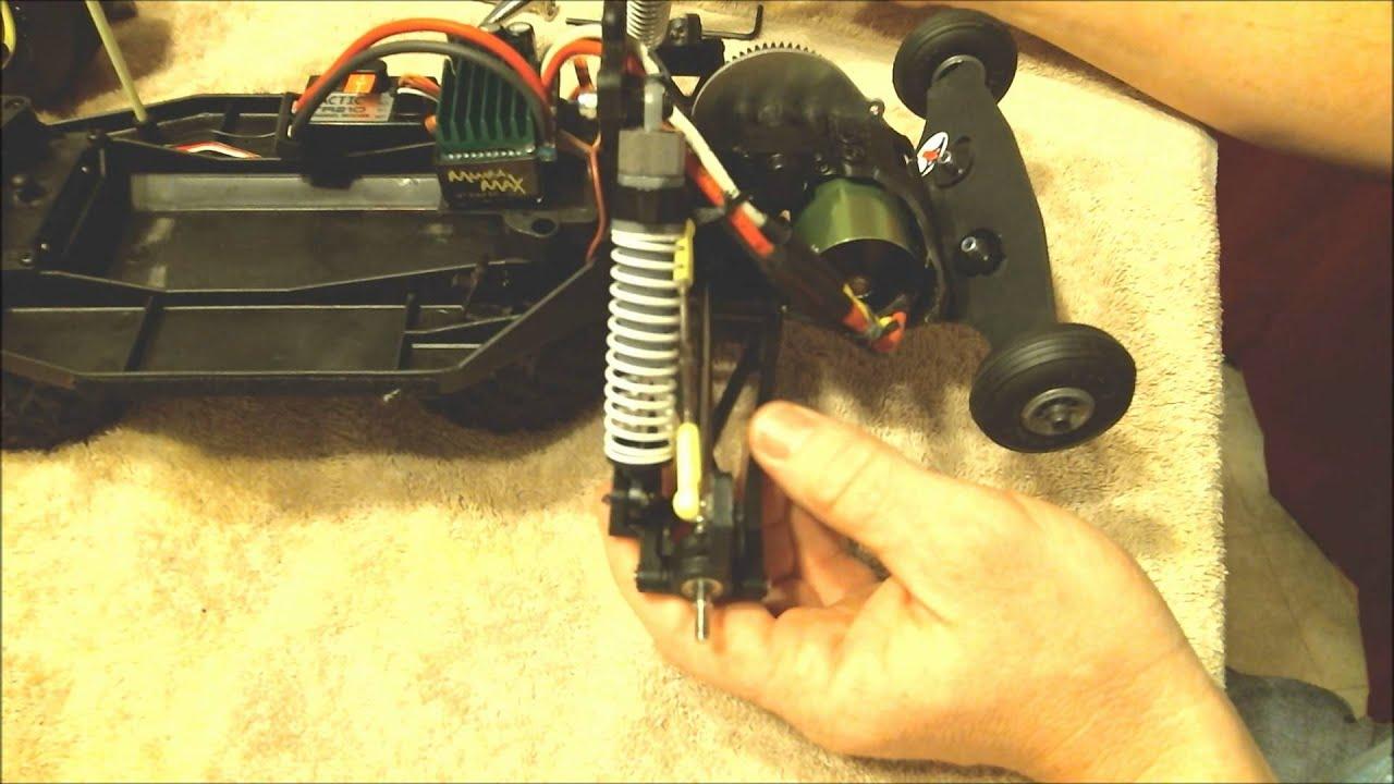 Part 1 full ceramic boca bearing kit install on brushless for Brushless motor ceramic bearings