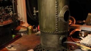 Video 19th century Victorian copper riveted jumbo vertical boiler, Capt. Nemo power plant. download MP3, 3GP, MP4, WEBM, AVI, FLV Juli 2018