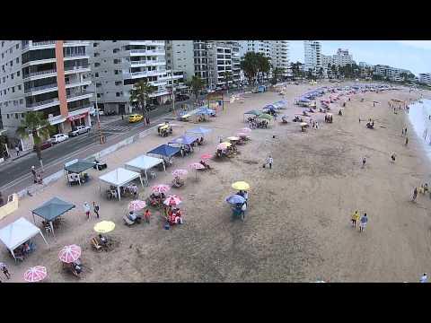 Salinas Ecuador desde un Drone
