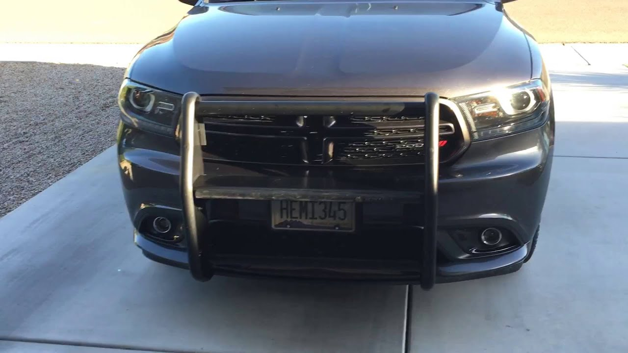 Setina Pushbar on 2015 Dodge Durango RT - YouTube