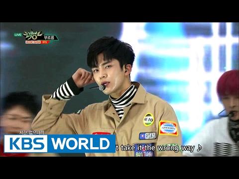 SF9 - ROAR (부르릉) [Music Bank COMEBACK / 2017.02.10]