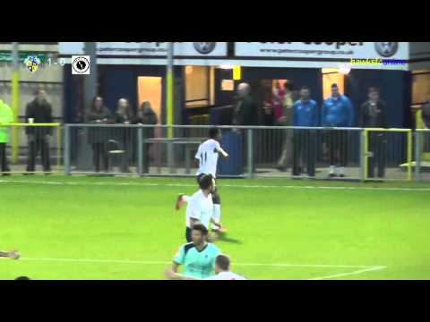 Havant & Waterlooville v Boreham Wood goals  April 2014