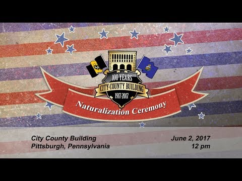 US Citizenship & Immigration Services Naturalization Ceremony - 6/2/17