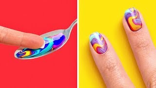 27 AWESOMELY EASY NAIL IDEAS