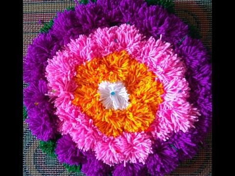 How to make crochet rumal | पूजेच्या...
