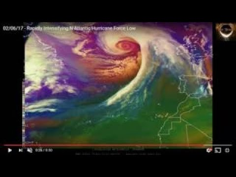 Nibiru NASA NORTH POLE HURRICANE..TEMPS WILL RISE 60+ DEGREES IN 72 HOURS