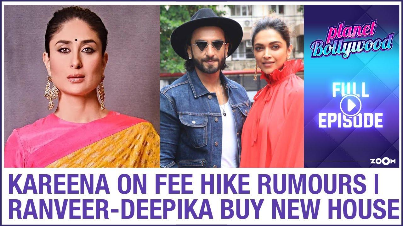 Kareena reacts to rumours of fee hike to play Sita| Ranveer-Deepika buy new house | Planet Bollywood