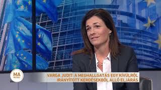 Varga Judit: a meghallgatás egy kívülről irányított kérdésekből álló eljárás