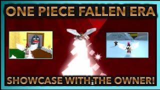 ONE PIECE FALLEN ERA REVIEW| BETTER THAN ONE PIECE BIZARRE ADVENTURES?!| ROBLOX One Piece Fallen Era|