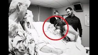 Ей пришлось надевать свадебное платье в больнице. Она понимала, что прощается навсегда...