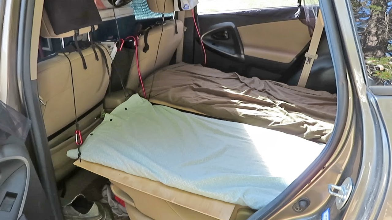 2-Person SUV Camping Setup (How to Sleep 2 People in an SUV)