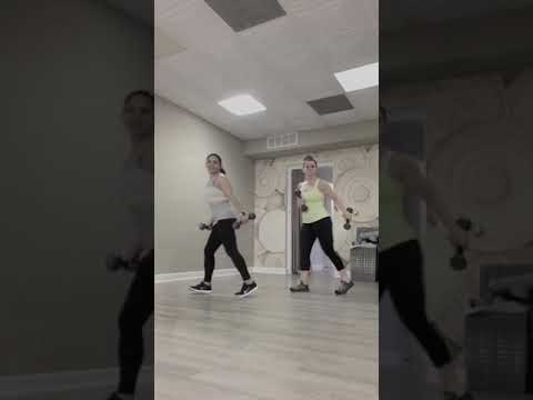 "Dance Fitness with Mercedes.     Zumba Toning ""PINEAPPLE"""