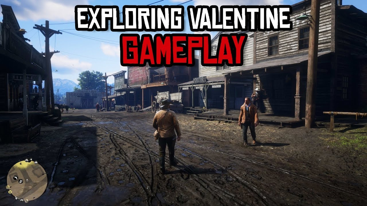 Exploring Valentine In Red Dead Redemption 2 Youtube