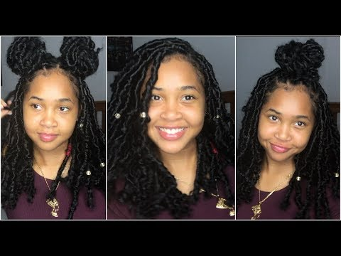 3 Back to School Hairstyles on Bohemian / Faux Locs 2017