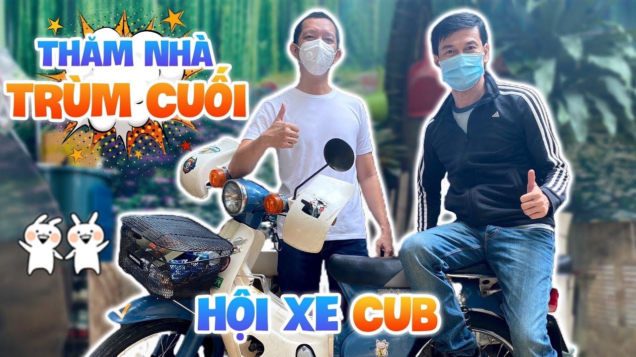 Tiết Cương ghé thăm nhà trùm cuối của hội xe Cub Sài Gòn