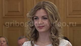 Відеозйомка в ЗАГС - зразок весільного відео з 1 Палацу одруження (Грибоедовский)