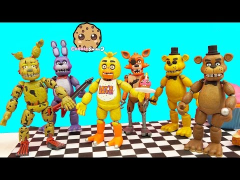 Complete Set Of Five Night's At Freddy's...